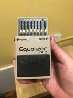 BOSS Equaliser GE-7