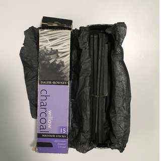 Daler Rowney Willow Charcoal Pack Medium