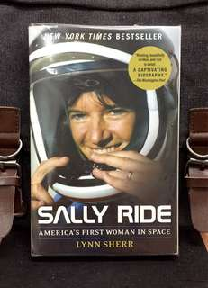 # Highly Recommended《New Book Condition + Biography Of The First American Woman Astronaut》Lynn Sherr - SALLY RIDE : America's First Woman in Space