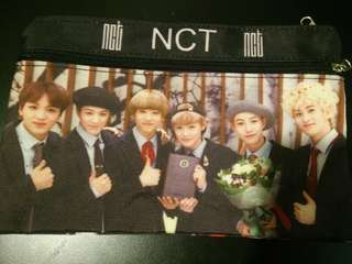 [√] NCT PENCIL CASE