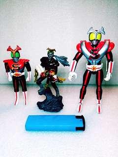 中古幪面超人系列(2),大窩口交收或自付郵費,順豐到付均可,恒生過數