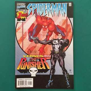 Spider-Man vs the Punisher No.1 comic