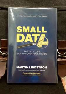 # Highly Recommended《Bran-New + 2016 Hardcover Edition + The Powerful Impacts of Small Data Trends》Martin Lindstrom - SMALL DATA : The Tiny Clues That Uncover Huge Trends