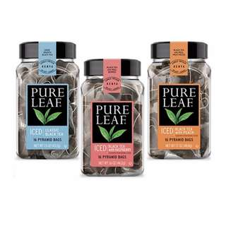 Pure Leaf Tea 16 Pyramid Tea Bags per bottle