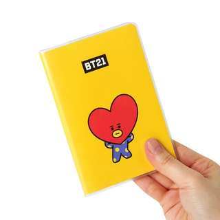 BT21 口袋筆記本 TATA❤Pocket Note