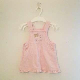 Pink Denim Dress