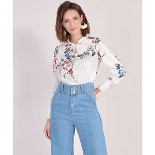 (PO) Lousiana Floral Top