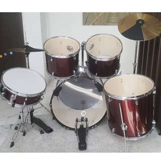 Drum Fire Drum Set (Perfect for Entry Level)