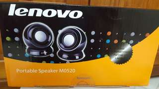 Lenovo portable speakers
