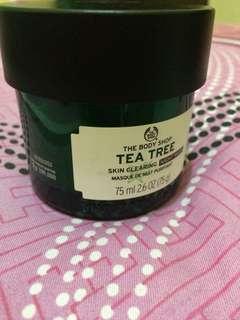 THE BODY SHOP NIGHT MASK TEA TREE PRELOVED
