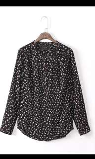 Brand new roll up sleeves blouse for sale