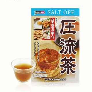 日本直送-山本漢方 壓流茶