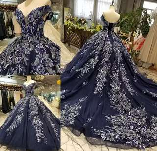 New arrival!High-end (customize)flower design wedding Dress