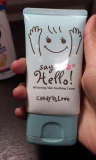Candy Love 舒緩嫩白霜