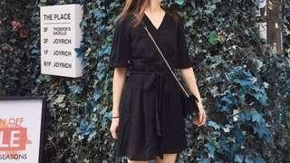 🚚 Sivironline-黑色優雅連身褲