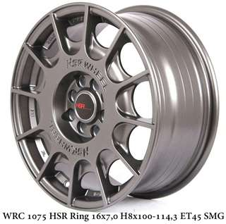 Velg mobil murah HSR R16 model rally