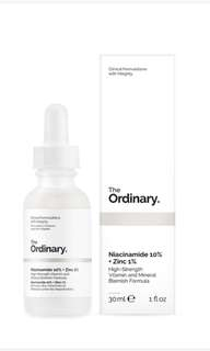 [3 LEFT] The Ordinary Niacinamide 10% + Zinc 1%