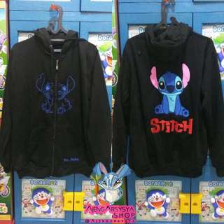 Jaket Zipper Disney Stitch