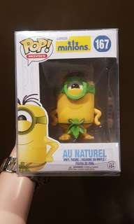 Au Naturel 167 Minions Funko Pop