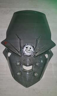 Mt 10 Givi windscreen