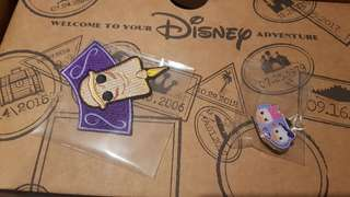 Lumiere Patch + Donald and Daisy Pin