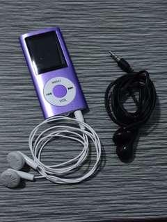 MP4 Player (violet)