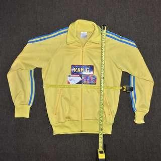 Adidas Track Jacket Yellow