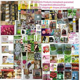 Beauty products!just Name it!100%authentic!