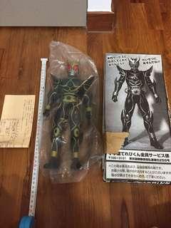 SEALED AND NEW! Large Kamen Rider Figurine