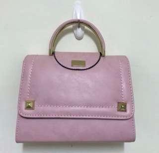 🚚 原價2880$!正韓🇰🇷粉色氣質包
