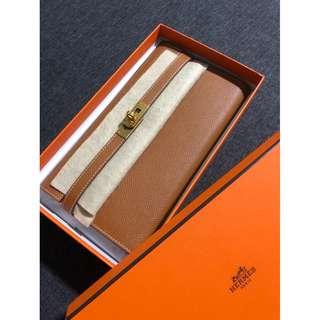 BNIB Authentic Hermes Kelly wallet