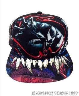 Marvel Comics Venom Sublimated All Over Print Snapback