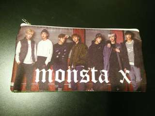 [√] MONSTA X PENCIL CASE