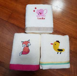 BN Animal Face Towels