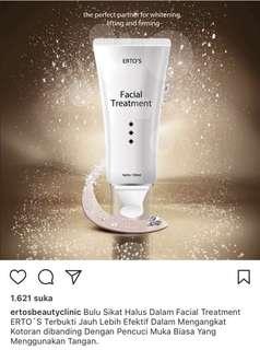 facial wash ertos