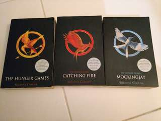 The Hunger Games Trilogy book series.