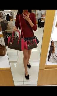 MK Ciara medium & large satchel