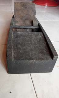 Ketam kayu lama antik