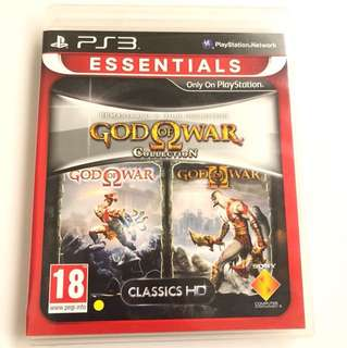 PS3 God Of War Collection (1 & 2)