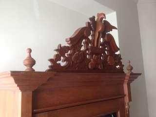 Old Teak Wood Cabinet