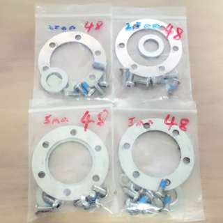 Dualtron Ultra V2 48mm Rotor Spacer (2.5mm & 5mm thickness)