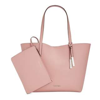 Authentic Calvin Klein Key Item Tote with Pouch(70%OFF)
