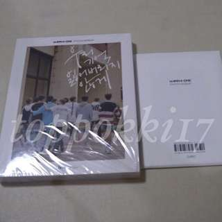 Wanna one photo essay WTS sealed unsealed 4cut bookmark postcards