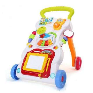 Ready Stocks! Baby Toddler Multi-Functional Walker with music & a drawing board