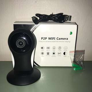 P2P WIRELESS WIFI CAMERA 🔥