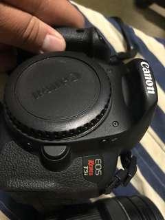 自售Canon Eos T5i (700D)+18-135 kit+Tokina T116