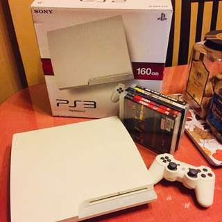 PS3 White For Sale - Price Drop!