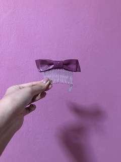 Evita Peroni ribbon hair clip