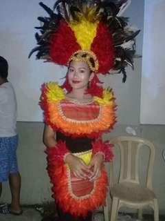 Dinagyang costume