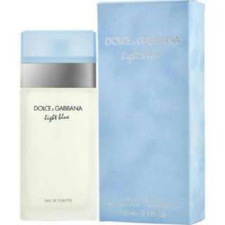 Dolce and Gabbana Light Blue Women's EDT Perfume Spray 50ml